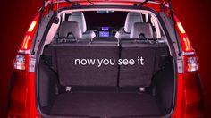 Clever Honda thinking – Folding seats