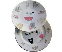Porcelan Sticker: kleine Monter - gibt's auf Etsy.