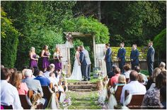 Creekwood Gardens Wedding - First Kiss - Rogers Arkansas - Northwest Arkansas Wedding Photography