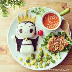 Snow White - Evil Queen - plate