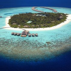 The Maldives Island - Anantara Kihavah Villas