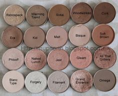 Mac Eyeshadow Swatches: Light Neutrals - top_make_up_pintennium Mac Makeup, Love Makeup, Skin Makeup, Makeup Inspo, Makeup Inspiration, Makeup Eyeshadow, Drugstore Makeup, Sephora Makeup, Mac Cosmetics Eyeshadow