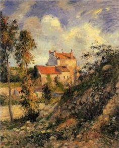 Les mathurins, Pontoise - Camille Pissarro