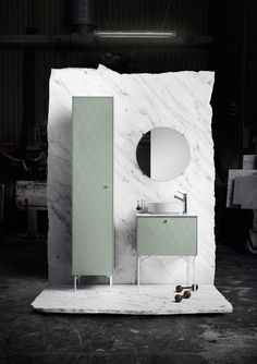 With Superfront's design you can create unique bathroom furniture and bathroom interior built on the Ikea Metod frames. Small Bathroom Furniture, Bathroom Interior, Bathroom Green, Bathroom Small, White Bathrooms, Ikea Bathroom, Furniture Vanity, Bathroom Images, Entryway Furniture