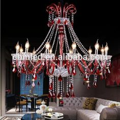 Source red color chandelier,colored glass chandeliers,modern red glass chandelier on m.alibaba.com