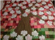 Guest Quilt instead of Guest Book - Sign a leaf for the wedding tree.