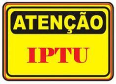 INFORMATIVO GERAL: IPTU  com desconto de 12% até 30-04-2016 em Monten...