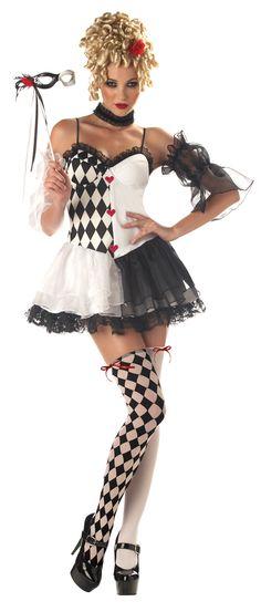 LeBelle Harlequin Costume @Fantasypartys