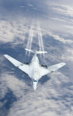 Tupolev White Swan Nato name Blackjack - Russian Air Force Military Jets, Military Weapons, Air Fighter, Fighter Jets, Tupolev Tu 160, Russian Military Aircraft, Russian Air Force, Jet Plane, Aviation Art