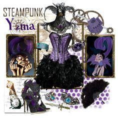 """Steampunk: Yzma"" by ghsdrummajor on Polyvore"