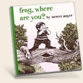 frog, where are you? Wordless picture books are a great way to enhance language development.