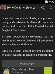 *Actualités en langue français et arabe<br>Forza-ESS.COM est l'application incontournable pour les fans de l'Etoile Sportive du Sahel, l'un des clubs les plus prestigieux de la Tunisie.<br>Accédez en temps réel à toute l'information de votre club favori:<