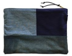 kapital oversized pouch boro komebukuro zokin et cie. Black Bedroom Furniture Sets. Home Design Ideas