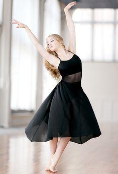 83b385dd56d9 Long flowy skirt with leotard. Gorgeous dress. Perfect for a lyrical ...
