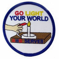 AHG Activity Patches: This is an excellent patch to present to your girls for any service project that they have done as an AHG member.