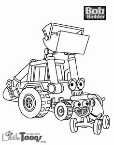 bob the builder coloring pages | builder coloring pages online bob ...