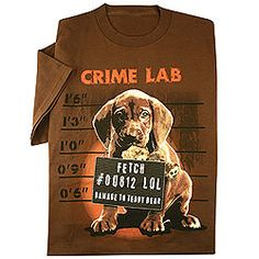Crime Lab Tee      Was: $16.98 - $18.98  Now: $9.97 - $11.97