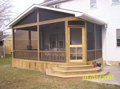 Beautifully design porches and screened in porches