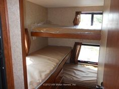 (PICTURE ONLY) 2013 Skyline Nomad JOEY 249 TRIPLE BUNKS Travel Trailer