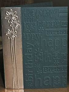 Embossed foil backed tape | cards-embossed foil | Pinterest | Duct Tape, Birthday Cards and ...