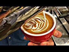 Satisfying Barista Training Compilation | The Coffee Shop | Chill Jazz Hip Hop | MUST WATCH | - YouTube