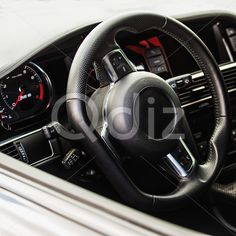 Qdiz Stock Photos | Interior of the sports car,  #airbag #auto #automobile #cabin #car #comfortable #dashboard #design #driver #elegance #exclusive #fast #frontpanel #gear #indoors #inside #interior #knob #leather #lever #luxury #modern #outdoors #power #seat #speedometer #sport #steering #stick #style #transport #vehicle #wheel