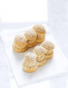 Those Fabulous, Decadent French Pastries Mini Desserts, Christmas Desserts, Dessert Recipes, Eclairs, Profiteroles, Chefs, Eclair Recipe, 90 Second Keto Bread, Paris Brest
