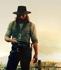 He is the walking, talking image of Rafe ! (Hell On Wheels - favorite show!!!)