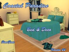 Download TS4 Coastal Paradise - Bed & Deco : http://simsfans.forumfree.it/?t=71674006#entry582711089