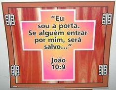 CANTINHO DAS HISTÓRIAS BÍBLICAS: VERSÍCULO VISUALIZADO JOÃO 10:9