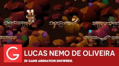 Lucas Nemo de Oliveira - 2D Game Animation Showreel