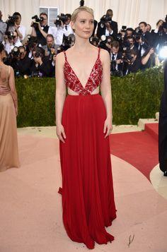 Mia Wasikowska - Best Dressed at the 2016 Met Gala - Photos