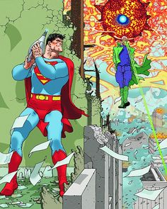 Superman & Lex Luthor - Frank Quitely