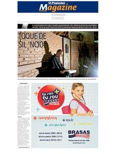 Especial sobre o silêncio publicada no jornal O Popular de 18 de janeiro de 2009. Página 1 de 4