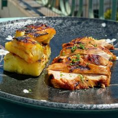Semi, Baked Potato, Buffet, Food And Drink, Diet, Baking, Ethnic Recipes, Chicken, Hawaiian Chicken