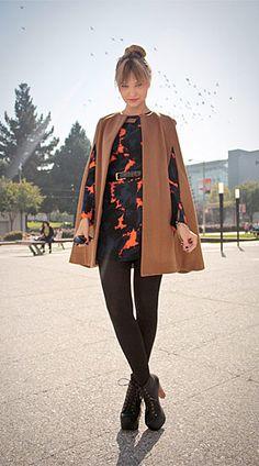 Liz Sampson, shot in San Francisco for Lookbook.