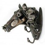 Iron-key-rack-Rustic-Racehorse-Eco-Friendly-Recycled-Car-Part-Horse-Coat-Hook-Key-Holder-0