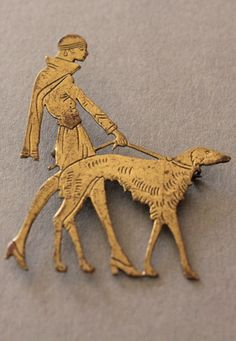 1920s Vogue Brooch