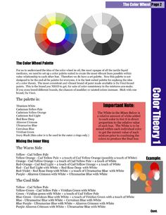 """ConceptArt Thread """"Theory Discussion: """"Color Theory"""" Principles and Practice"""" By: fredflickstone I originally posted some of these pictures without the corresponding concept art thread… it's quite. Graphic Novel Art, Design Palette, Art Studies, Page Layout, Color Theory, Art Tips, Visual Identity, Art Lessons, Art Reference"""