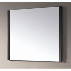 Loft 36 Inch Dark Walnut Mirror Avanity Rectangle Mirrors Home Decor
