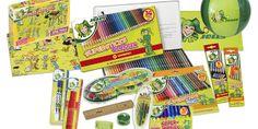 Jolly's Produkte sind kinderfest! Das heißt bruchsicher, ungiftig, zertifiziert, usw. Buntstifte, Deckmalfarben, Fasermaler, Wachsmalkreiden, und, und, und.