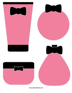 Props from Spa Pink Printable Photo Booth Prop Set