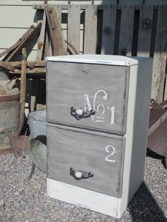 Painting Furniture - A File Cabinet