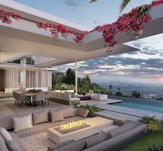 Comment your favorite part about this amazing design! Mansion Interior, Dream House Interior, Luxury Homes Dream Houses, Dream Home Design, House Design, Exterior Design, Interior And Exterior, Terrasse Design, Courtyard House Plans