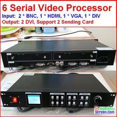 led rental display video processor Composite/DVI/vga input, support 2 sending card, 1920*1080 pixel,Led screen Video Processor Sale Only For US $158.00 on the link Led, Pixel, Location, Display, Cards, Composite Video, Entryway, Central Processing Unit, Billboard