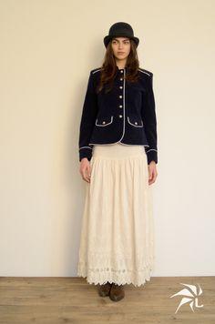 Toledo hat. Kate Jacket. Lola Skirt