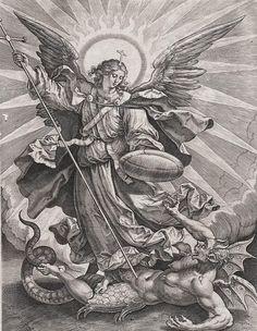san miguel arcangel derrotando al demonio - Google Search