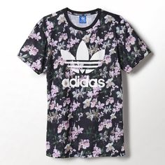 Adidas originals Orchid / tee-shirt