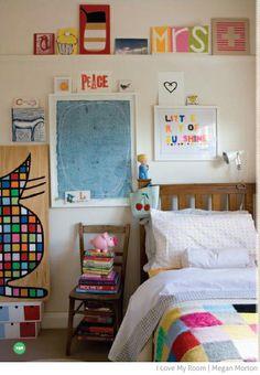 Bondville: Rachel Castle's kids' rooms in I Love My Room book by Megan Morton