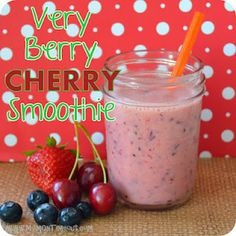 Smoothie recipe #redwhiteandblue #summertreats